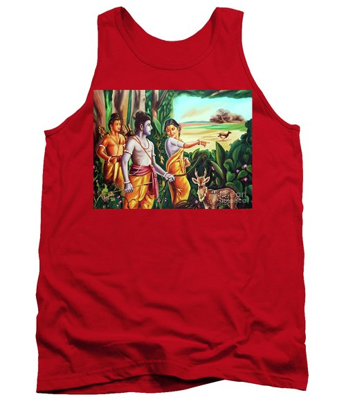 Love And Valour- Ramayana- The Divine Saga Tank Top