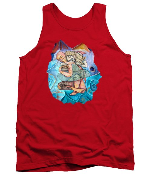 Love Conquers All Tank Top by Joanna Whitney