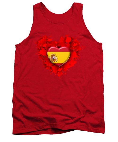 Love Spain Tank Top by Alberto RuiZ