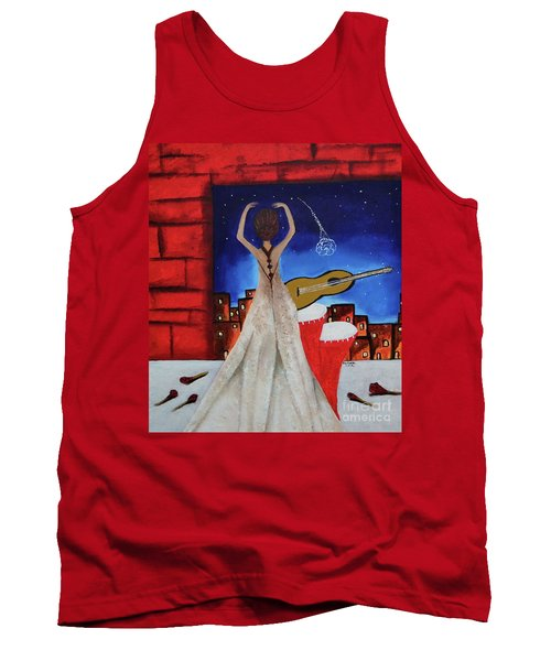 Love To Dance 002 By Saribelle Rodriguez Tank Top by Saribelle Rodriguez