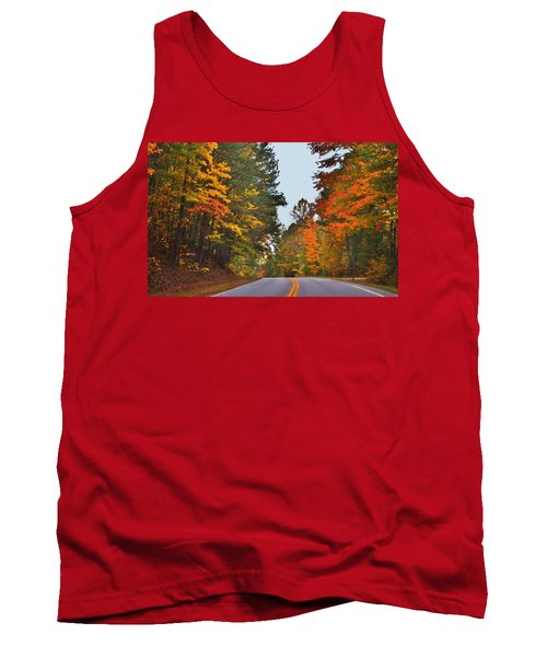 Lovely Autumn Trees Tank Top