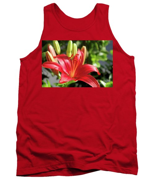 Lovely Flower Tank Top
