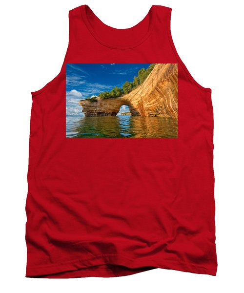 Lover's Leap From Kayak Tank Top