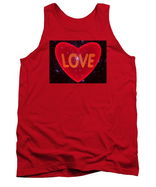 Loving Heart Tank Top by Ernst Dittmar