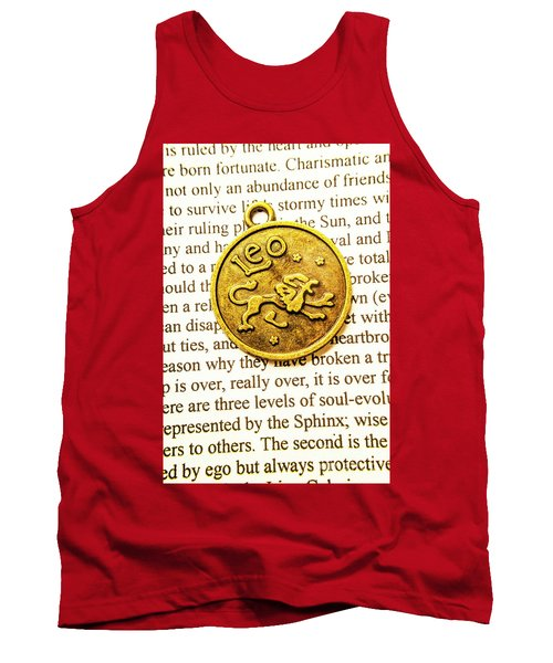 Lucky Leo Charms Tank Top