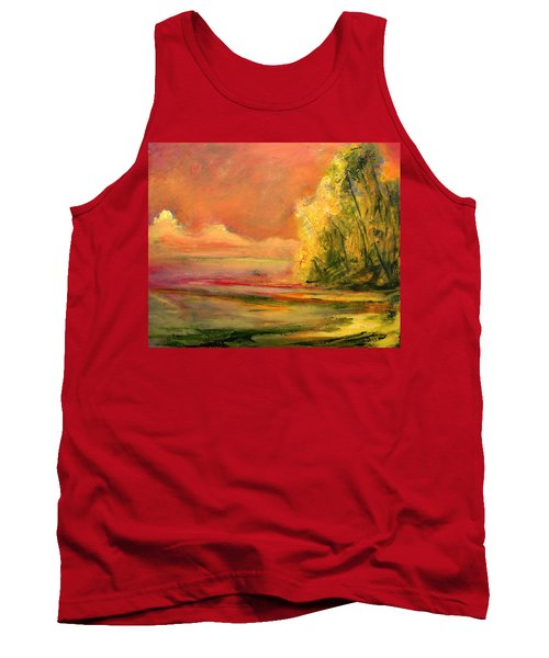 Luminous Sunset 2-16-06 Julianne Felton Tank Top