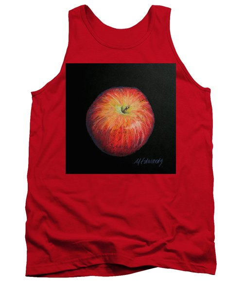Lunch Apple Tank Top by Marna Edwards Flavell
