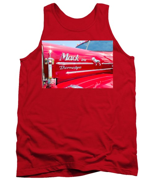 Mack Truck Hood Badges Tank Top