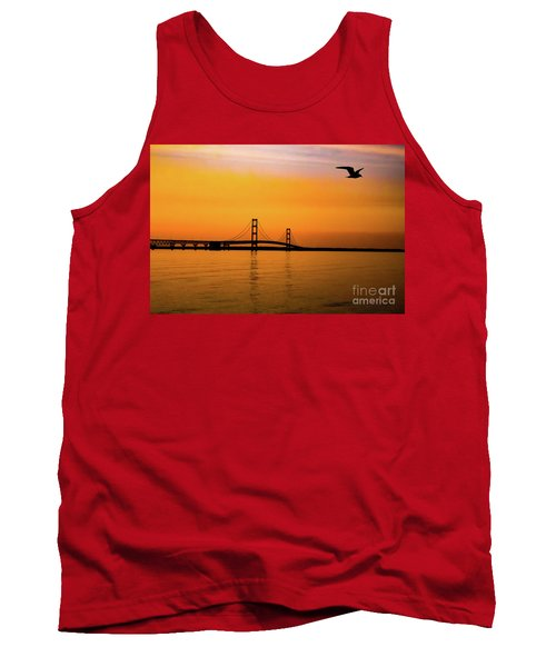 Mackinaw Sunset  Tank Top