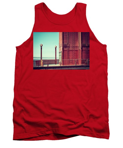 Made Of Steel Tank Top