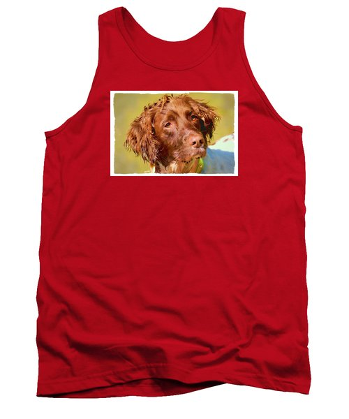 Tank Top featuring the photograph Maggie 2  by Constantine Gregory