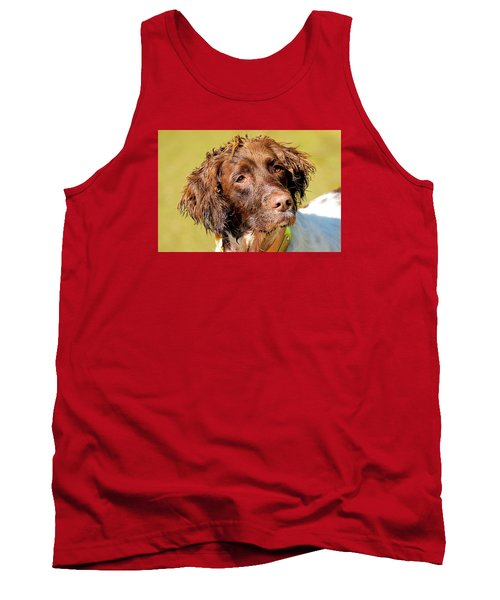 Tank Top featuring the photograph Maggie Head Photo Art by Constantine Gregory