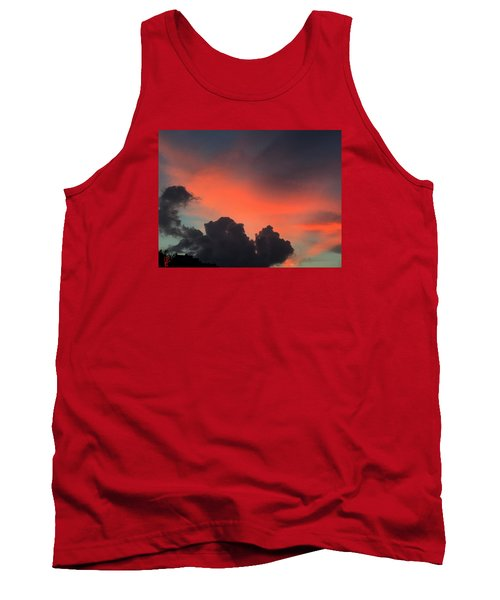 Late Day On Paros Island  Tank Top