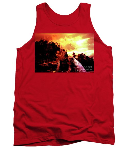 Tank Top featuring the photograph Magnificent Church Of Biblian IIi by Al Bourassa