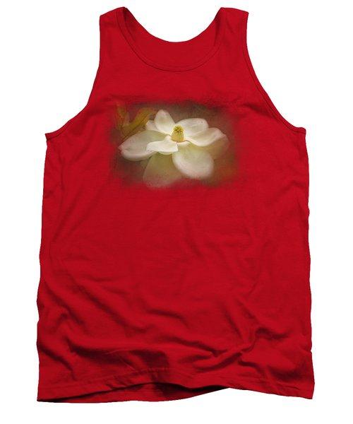 Magnolia In Bloom 2 Tank Top
