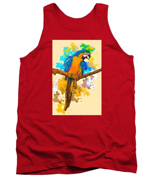 Tank Top featuring the photograph Making A Splash by Brian Tarr
