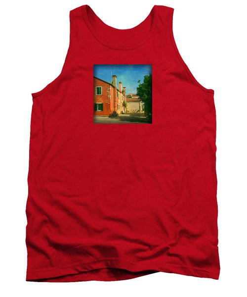 Tank Top featuring the photograph Malamocco Corner No1 by Anne Kotan