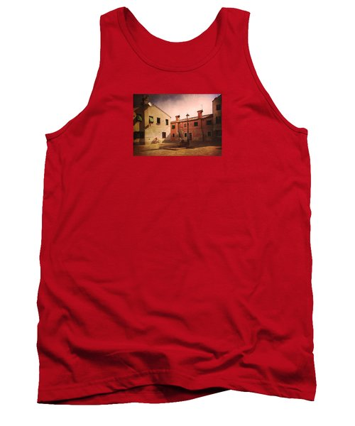 Tank Top featuring the photograph Malamocco Corner No2 by Anne Kotan