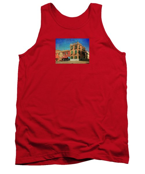Tank Top featuring the photograph Malamocco Corner No3 by Anne Kotan