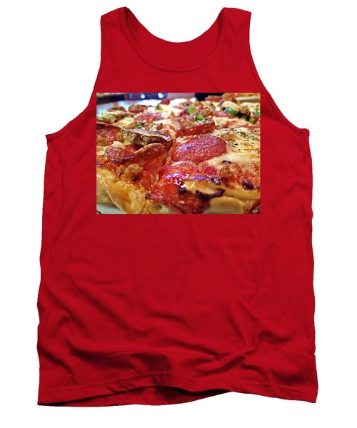 Tank Top featuring the photograph Mama Lido's Pizza by Robert Knight
