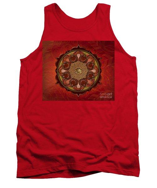 Mandala Flames Sp Tank Top