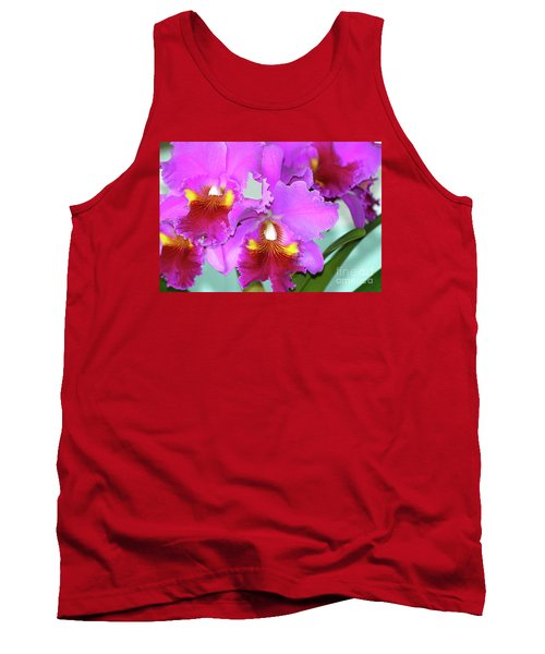 Many Purple Orchids Tank Top