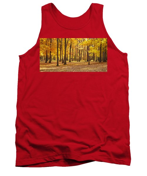 Tank Top featuring the photograph Maple Glory by Francesa Miller
