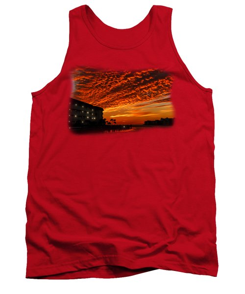 Marco Sunset No.9 Tank Top by Mark Myhaver