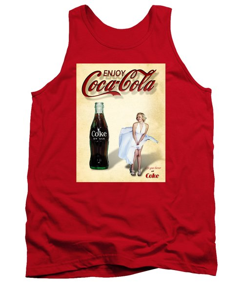 Marilyn Coca Cola Girl 3 Tank Top
