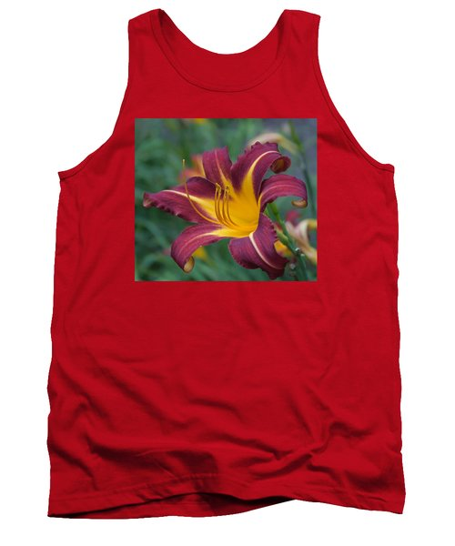 Maroon And Gold Tank Top