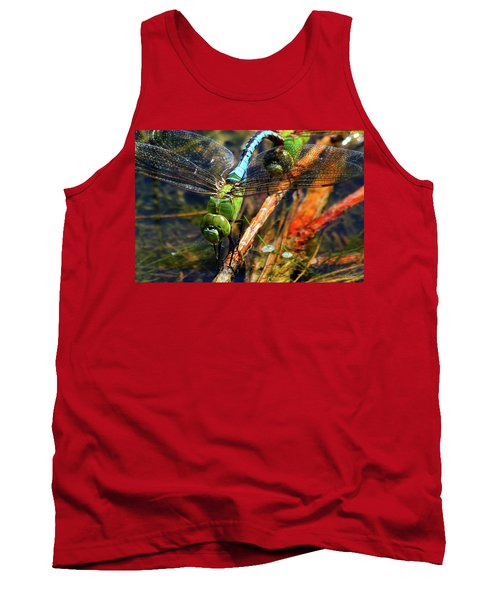 Married With Children Dragonflies Mating Tank Top