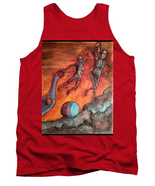 Master Minds Of Mars, The Voices Of Time Tank Top