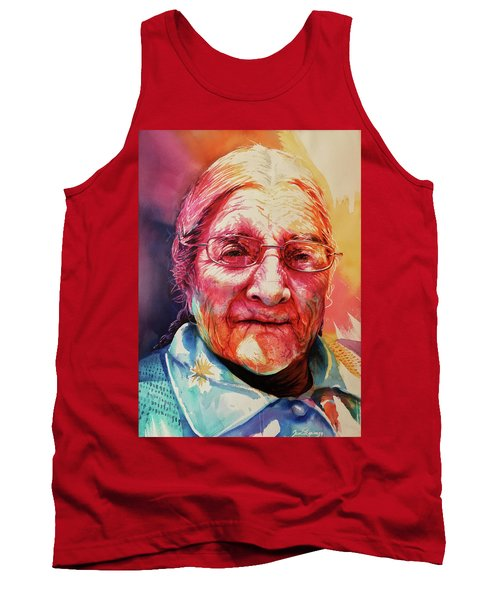 Tank Top featuring the painting Windows To The Soul by J- J- Espinoza
