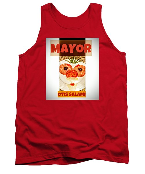Tank Top featuring the photograph Mayor Otis Salami T-shirt by Jennifer Hotai