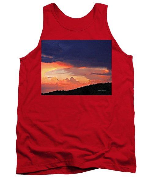 Mazatzal Peak Sunset Tank Top