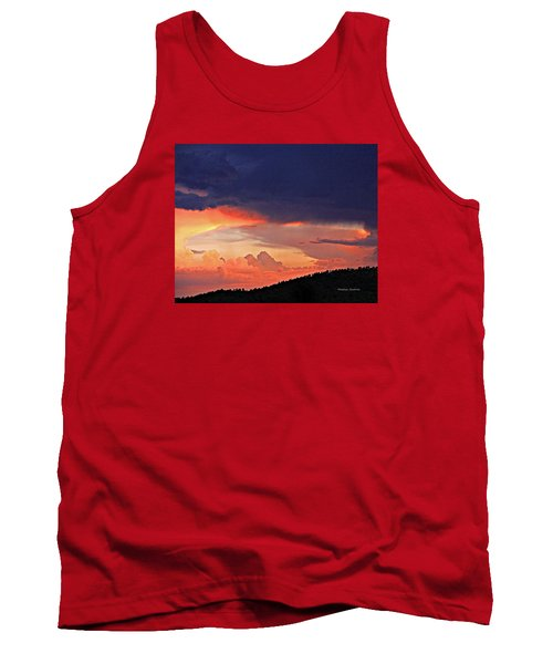 Mazatzal Peak Sunset Tank Top