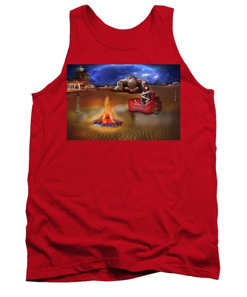 Mazzy Stars Tank Top by Michael Cleere