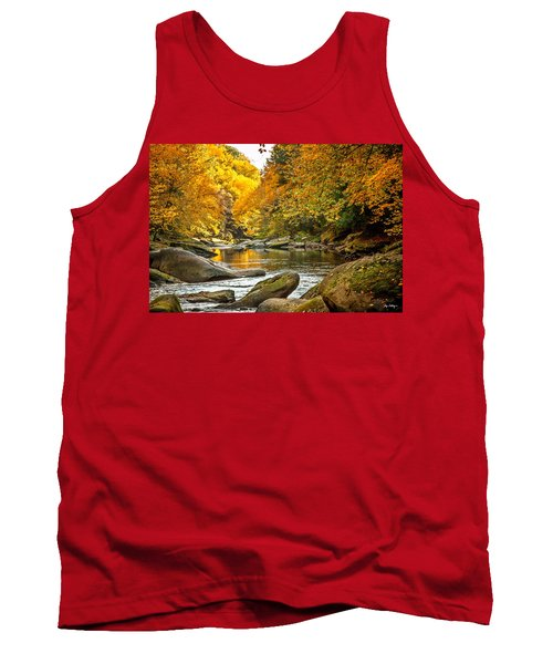 Mcconnell's Mill State Park Tank Top by Skip Tribby