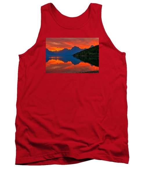 Tank Top featuring the photograph Mcdonald Sunrise by Greg Norrell