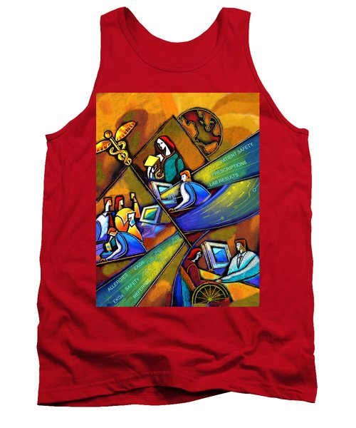 Medicare And Information Technology Tank Top