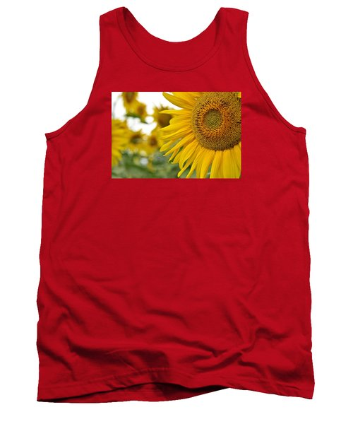 Mellow Yellow Tank Top by Joanne Brown