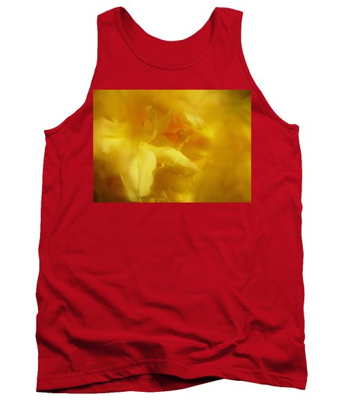 Tank Top featuring the photograph Mellow Yellow by Richard Cummings