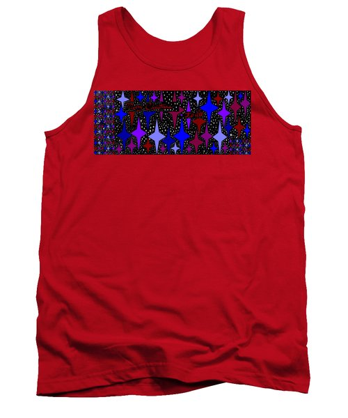 Merry Christmas To All, Starry, Starry Night Tank Top