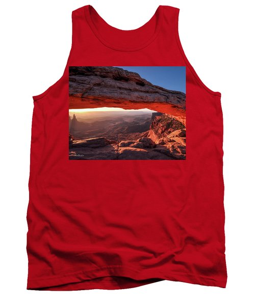 Mesa Arch At Sunrise 2, Canyonlands National Park, Utah Tank Top