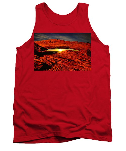 Mesa Arch Moonshine Tank Top by Greg Norrell