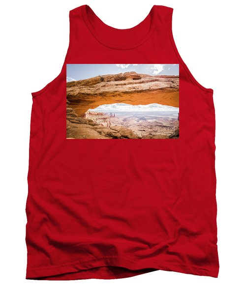 Mesa Arch Sunrise Tank Top by JR Photography
