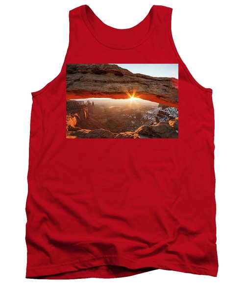 Tank Top featuring the photograph Mesa Arch by Wesley Aston