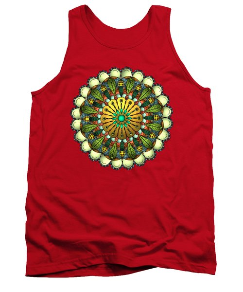 Metallic Mandala Tank Top