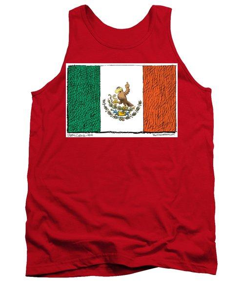 Mexico Flips Bird Tank Top