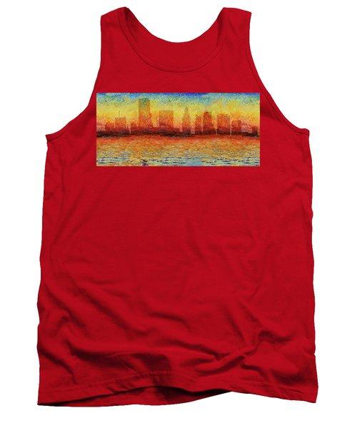 Miami Skyline 5 Tank Top
